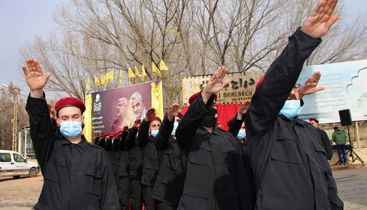 """عناصر لـ""""حزب الله"""" (تعبيرية- """"أ ف ب"""")."""