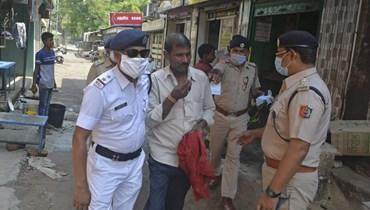 الأزمة الصحية تتفاقم في الهند (أ ف ب).