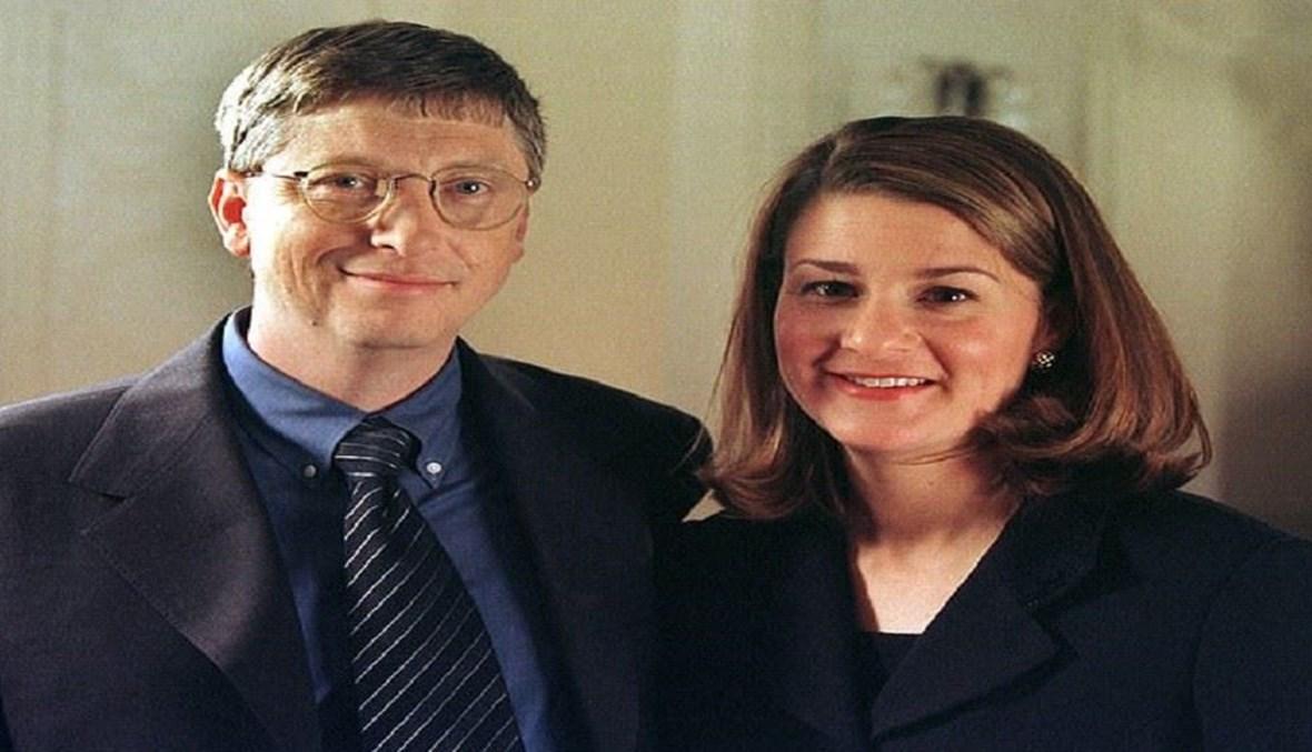 غايتس وزوجته.