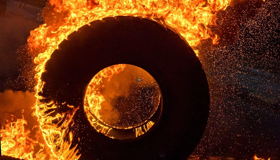 دعونا نحترق في جهنم! (تصوير نبيل إسماعيل).