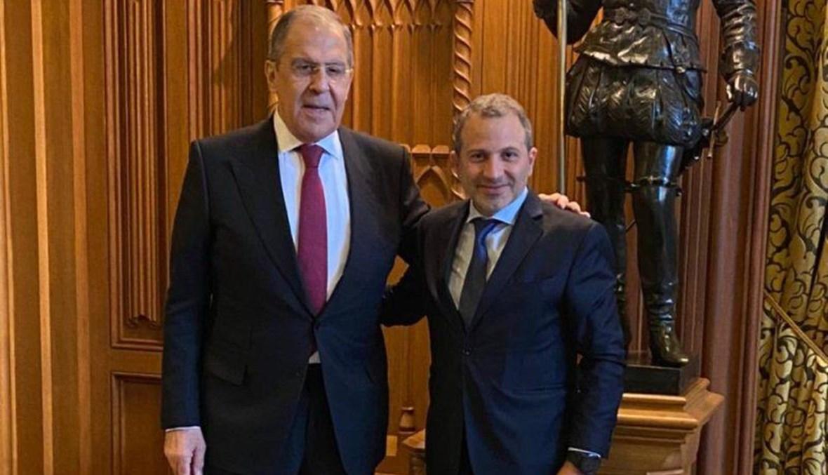 السفير لدى موسكو: لافروف لم يستقبل باسيل