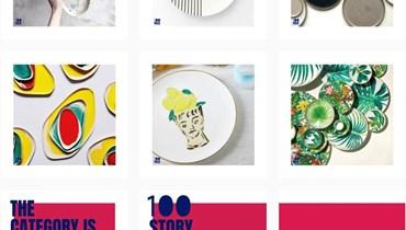 100 قطعة فنية لـ100 فنان!