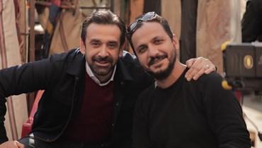 بيتر ميمي وكريم عبدالعزيز.