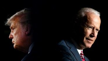 الرئيسان الأميركيان السابق والحالي دونالد ترامب وجو بايدن (أ ف ب).