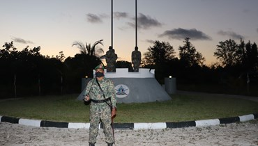 جنود في جيش المالديف (21 نيسان 2021، قوات الدفاع الوطني لجزر المالديف).