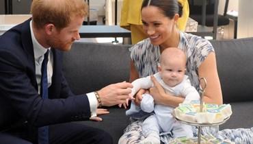 بمناسبة عيده الثاني... الأمير هاري وميغان ماركل يشاركان صورة جديدة لآرتشي