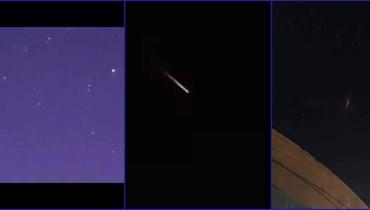 صورة ولقطتا شاشة من فيديوين يتم تناقلها بمزاعم خاطئة (فايسبوك).