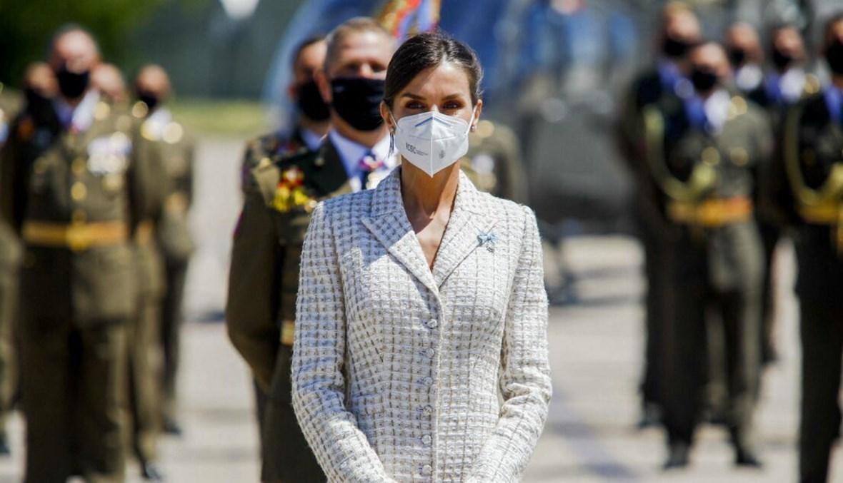 ليتيزيا ملكة إسبانيا.