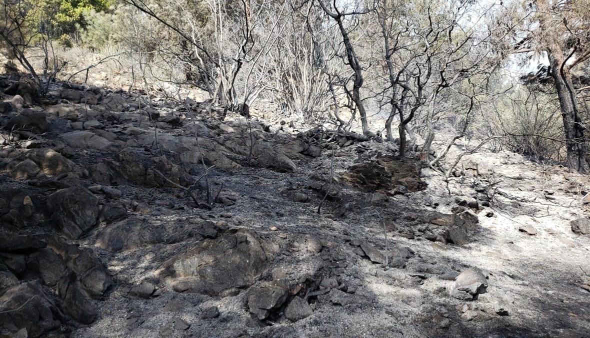 إخماد حريق في عكار.