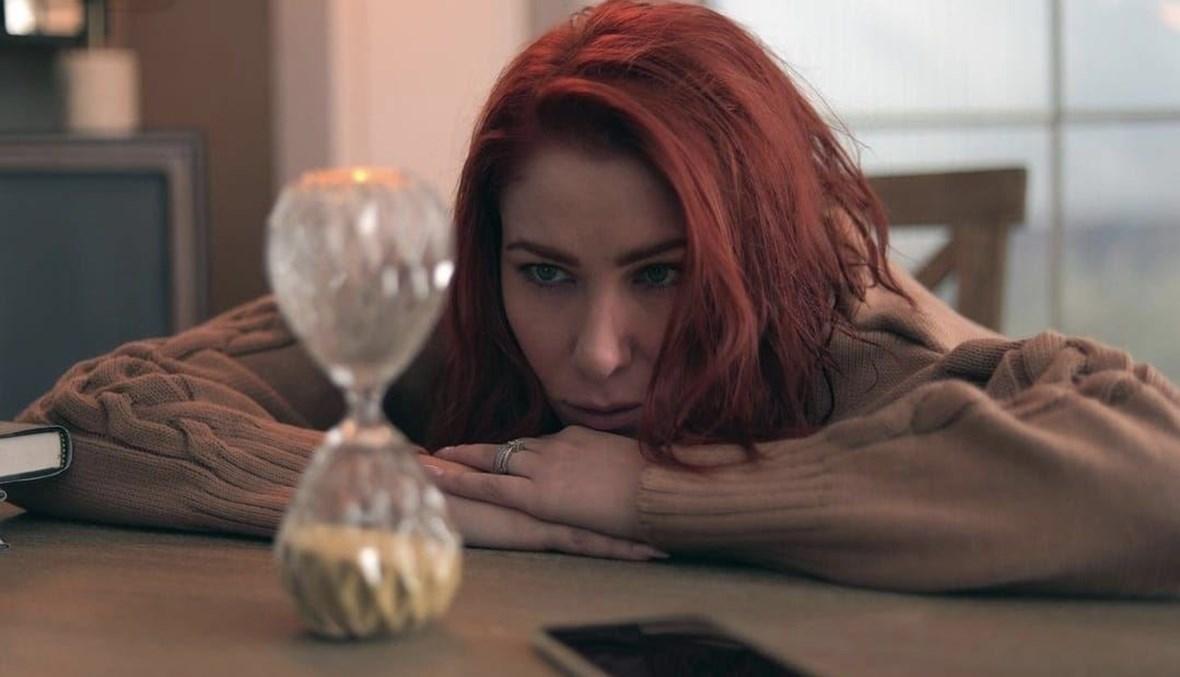"""دانييلا رحمة بدور ريم في مسلسل """"للموت""""."""