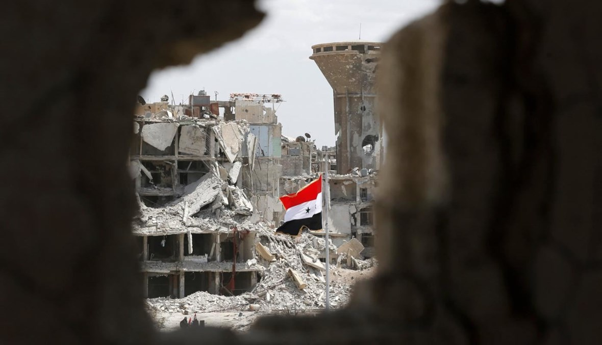 """الدمار في سوريا (تعبيرية- """"أ ف ب"""")."""