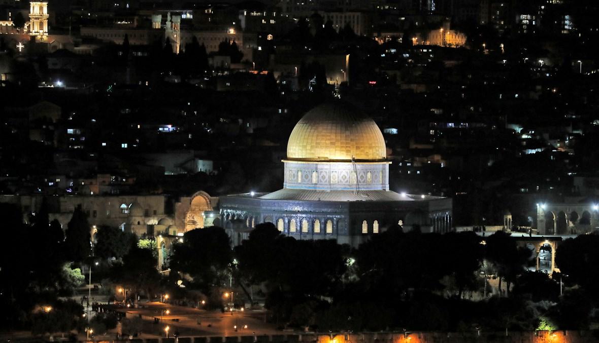 المسجد الأقصى في القدس الشريف (أ ف ب).