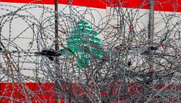 """""""المساعي الجارية داخلياً لا تكفي لخروج البلد من أزماته"""" (تصوير نبيل إسماعيل)."""