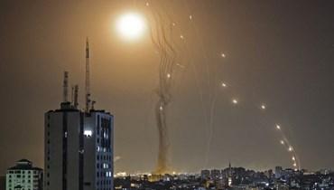 القصف في غزة (ا ف ب)