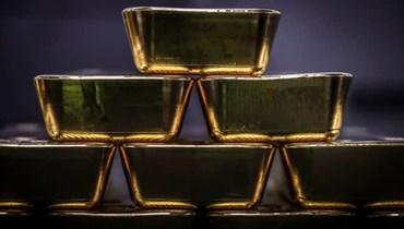 الذهب يرتفع (تعبيرية - أ ف ب).