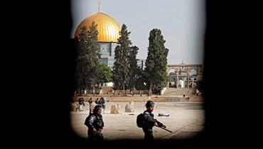 """الصين تشعر """"بقلق عميق"""" من التصعيد العسكري بين إسرائيل والفلسطينيين (تعبيرية - أ ف ب)."""