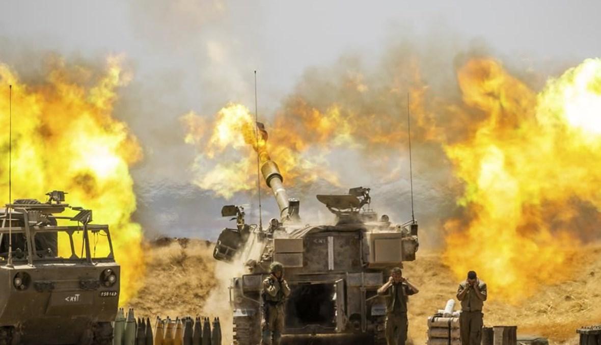 """القصف الإسرائيلي العنيف على قطاع غزة، 12 أيار 2021 - """"أ ب"""""""