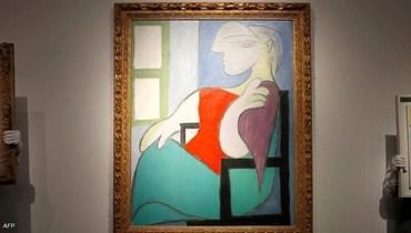 لوحة زيتية لبيكاسو بأكثر من مئة مليون دولار.