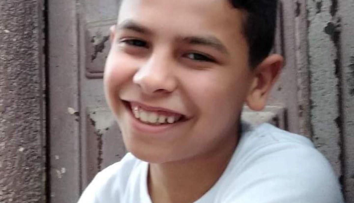 الطفل الراحل محمود.