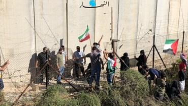 المشهد على الحدود (نبيل إسماعيل).