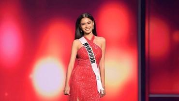 (بالصورة) ملكة جمال ميانمار في موقف بطولي!