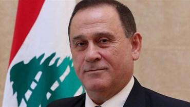 وزير الصناعة في حكومة تصريف الأعمال عماد حب الله.