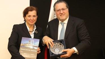 الوزيرة السلوفاكية في غرفة بيروت وجبل لبنان