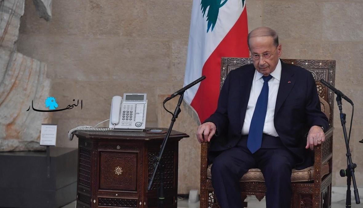 الرئيس ميشال عون (نبيل اسماعيل).