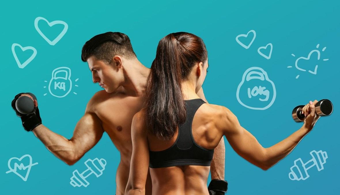 بناء العضلات لدى الرجال والنساء بعد سنّ الثلاثين.