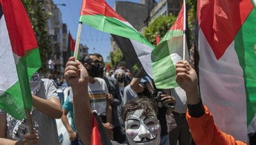 """تظاهرات فلسطينية ضد ارتكابات قوات وسلطات الاحتلال - """"أ ب"""""""