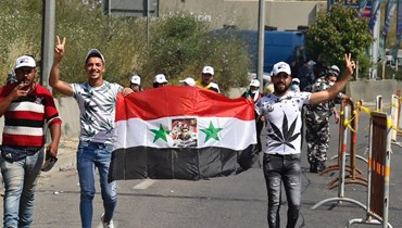 فتح أقلام الاقتراع في السفارة السورية في اليرزة (حسام شبارو).
