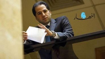 """رئيس حزب """"الكائب اللبنانية"""" سامي الجميل."""