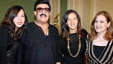 عائلة سمير غانم.