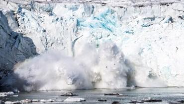 الجليد في غرينلاند (ا ف ب)