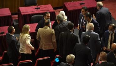 جلسة مناقشة الرّسالة الرّئاسيّة (نبيل إسماعيل).