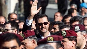 بشار الأسد (ا ف ب)