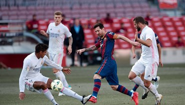 من مباراة سابقة بين ريال مدريد وبرشلونة