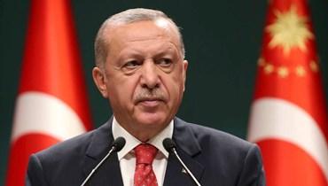 """الرئيس التركي رجب طيب إردوغان - """"أ ب"""""""