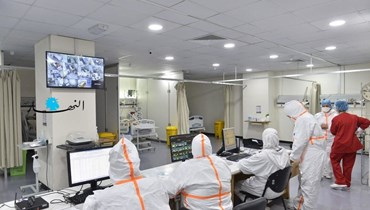 من داخل طوارئ مستشفى الحريري.