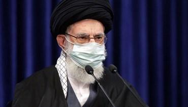المرشد الأعلى لإيران علي خامنئي (أ ف ب).
