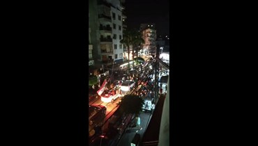 احتفالات بفور بشار الأسد المرتقب في جبل محسن.