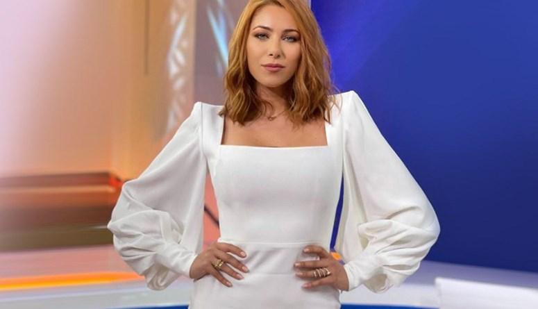 مصطفى الآغا يلحّ على دانييلا رحمة للكشف عن اسم حبيبها (فيديو)