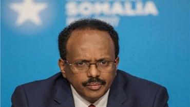 الرئيس الصومالي محمد عبدالله محمد.