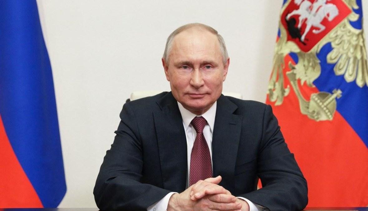 فلاديمير بوتين (أ ف ب).
