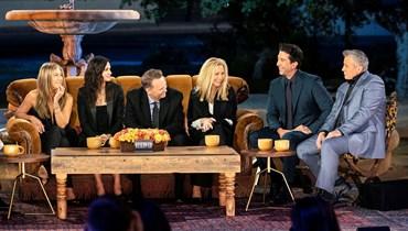 أبطال مسلسل Friends.