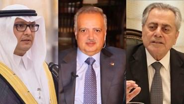 أرسلان يتّصل بالسفيرين السّعودي والسّوري