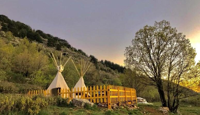 لمحبي الإقامة في وسط الطبيعة... مجموعة من أفضل المخيمات في لبنان