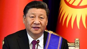 """الرئيس الصيني شي جينبينغ - """"أ ب"""""""