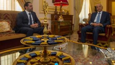 لقاء برّي والحريري (نبيل إسماعيل).