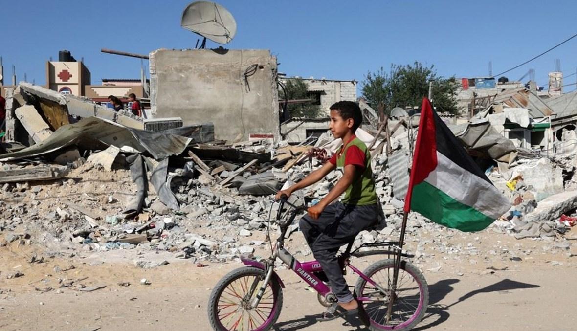 الدمار في غزة (أ ف ب).